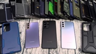 Samsung Galaxy S21/21+/ S21 Ultra Case Lineup -  OtterBox, Speck, Tech21, UAG and More!