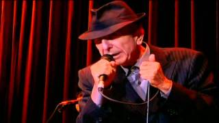 Leonard Cohen - Closing Time (London 2008)