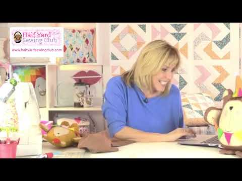 Highlights Of January's Half Yard Sewing Club Facebook Live Chat,
