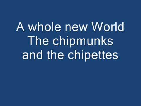 The Chipmunks And The Chipettes - A Whole New World