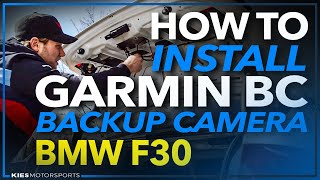 How to Install the Garmin BC 30 Back Up Camera F30 BMW