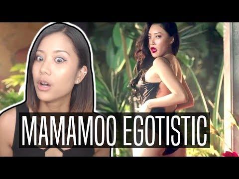 MAMAMOO EGOTISTIC REACTION   Pole dancing?!