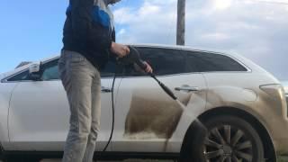 видео Как мыть машину керхером