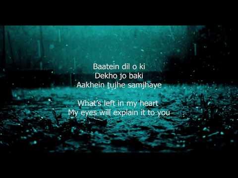 Tu Jaane Na   Lyrics With English Translation 1280x720