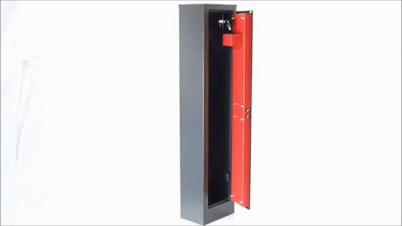 armoire a fusils 5 fusils serrure cl domus apf 4kt advantage youtube. Black Bedroom Furniture Sets. Home Design Ideas