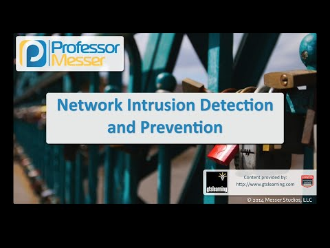 Network Intrusion Detection and Prevention - CompTIA Security+ SY0-401: 1.1