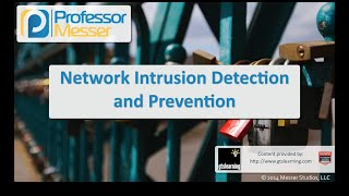 network intrusion detection and prevention comptia security sy0 401 1 1