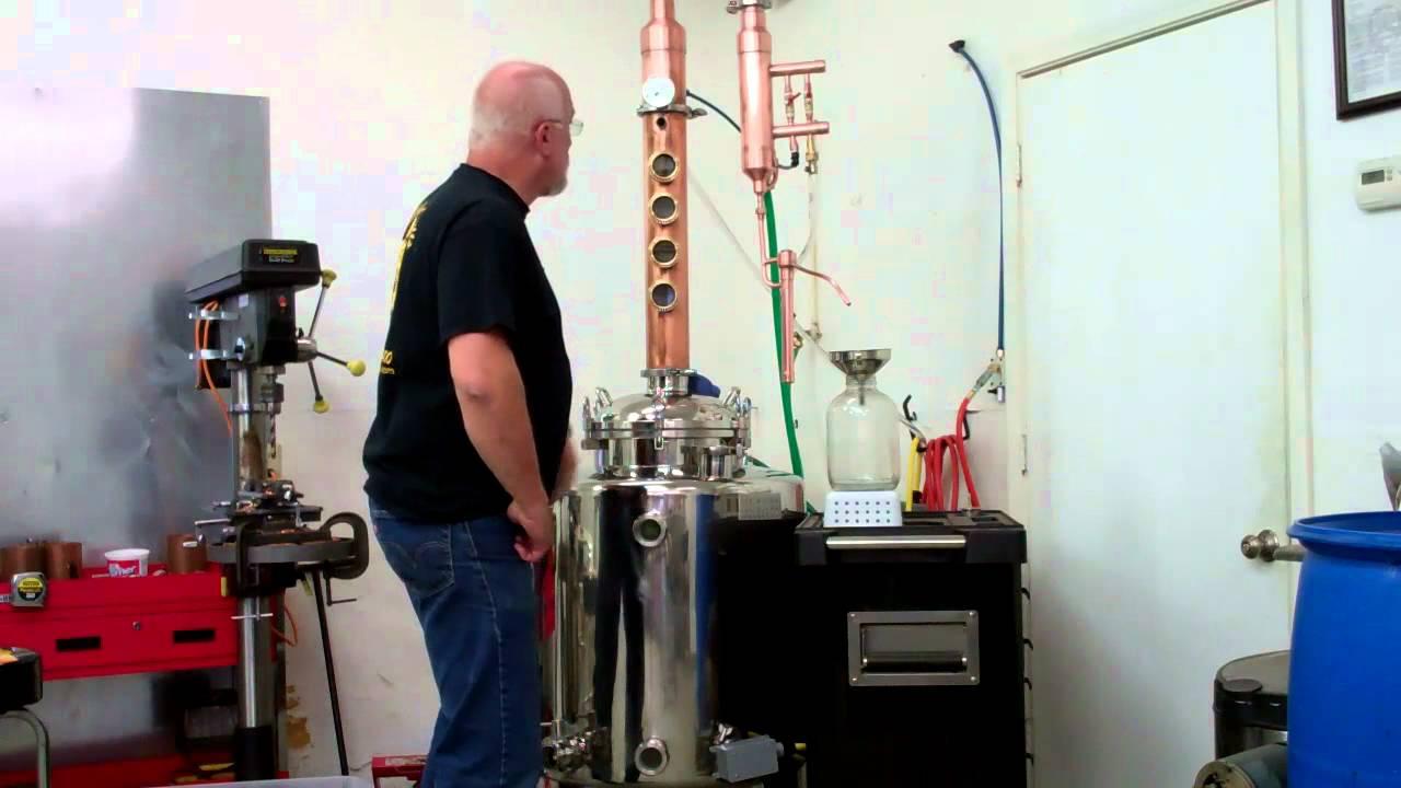 50 Gallon distiller, Moonshine still, Ethanol Still