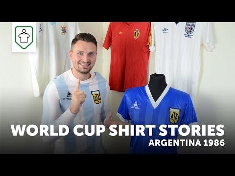 World Cup Shirt Stories: Argentina 1986