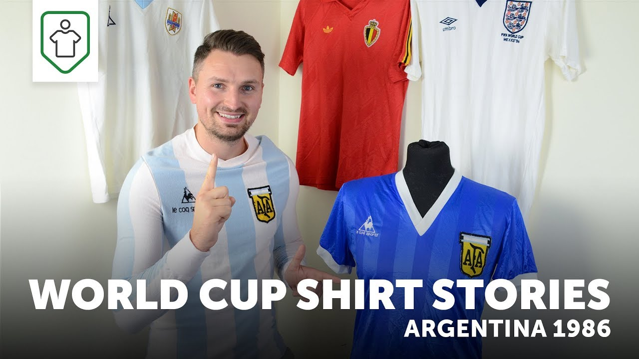 b1a0fa1f1ab World Cup Shirt Stories: Argentina 1986 Away Shirt - Classic Retro Vintage  Football Shirts