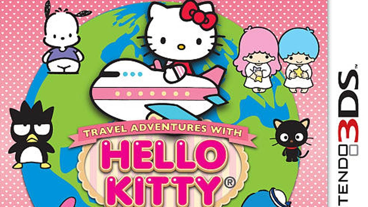 CGR Undertow - TRAVEL ADVENTURES WITH HELLO KITTY review for Nintendo 3DS