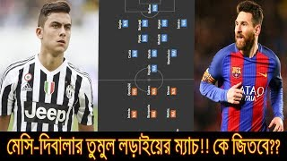 Barcelona VS Juventus UEFA Champions League 12 Sep 2017 Match RESULT Prediction | Team News LINEUP
