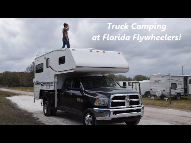 Truck Camping at Flywheelers 2015