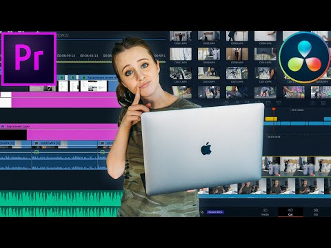 Edit FASTER in Premiere & Davinci Resolve 16