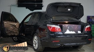 BMW E60 - Эстетично и очень громко