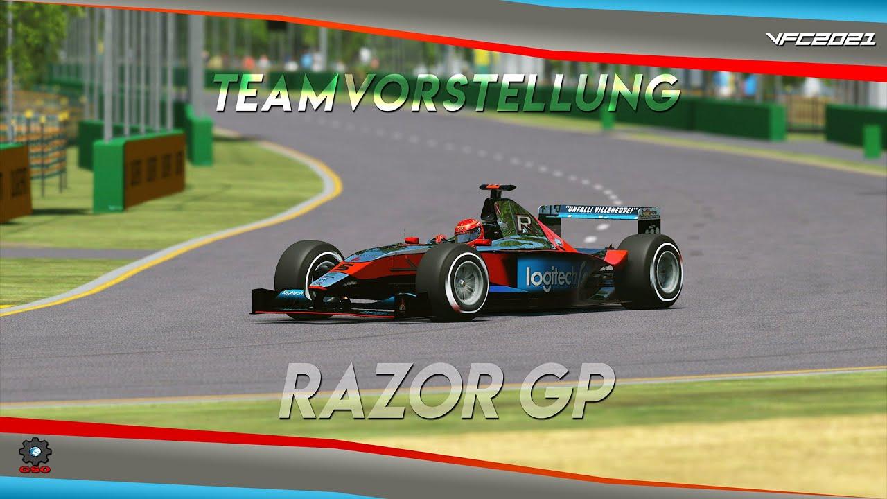 Virtual Formula Championship 2021 - Razor GP Teamvorstellung