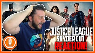 Snyder Cut  Announcement Reaction Freakout!  Justice League