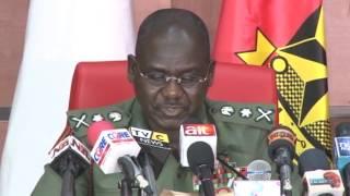 COAS  on Troops, 21  Brigadier Generals to major general