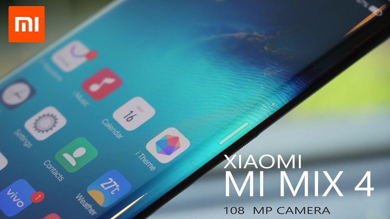 Xiaomi Mi MIX 4 (5G) - World's First 108MP Camera Smartphone | 12 GB RAM |  Price and Release d