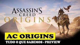 Assassins Creed Origins - Tudo o que sabemos(Preview) - PT-BR