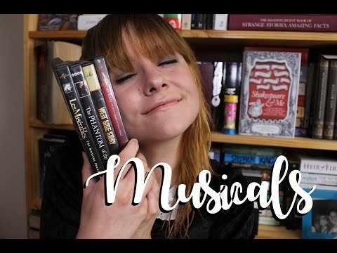 MY FAVOURITE MUSICALS ADAPTED FROM BOOKS || Velvet Library