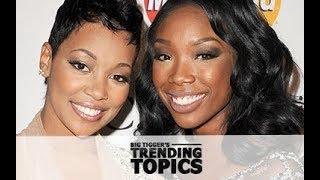Brandy & Monica Feud? + Trina Blasts Her Haters: The Big Tigger Show