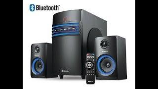 мультимедийная акустическая система 2.1Real-El M-550 Black  (Обзор и распаковка)