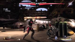 Injustice Gods Among Us: Pro Xbox Online Players KOTH part 1