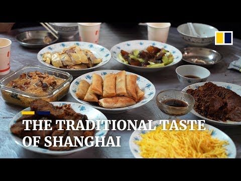 The traditional taste of Shanghai, China