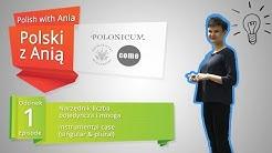 1. Instrumental Case / Polski z Anią.  1. Narzędnik