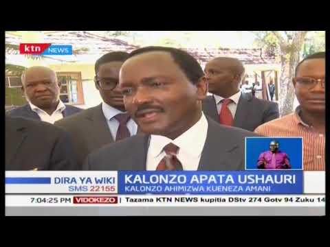 Kalonzo apata ushauri kutoka kwa Mzee Moi