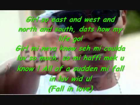 Vybz Kartel All Of A Sudden Lyrics