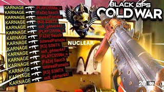 NUCLEAR IN BLACK OPS COLD WAR GAMEPLAY! (NUKE GAMEPLAY)