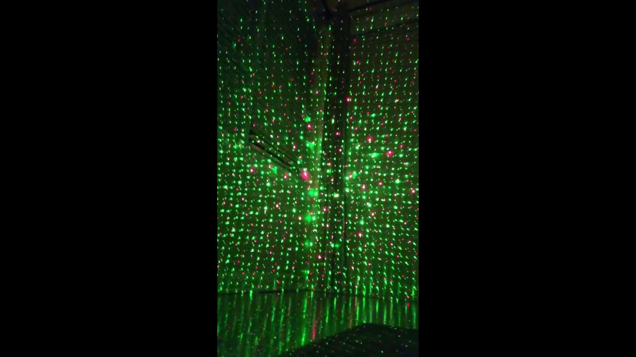 christmas laser light show review