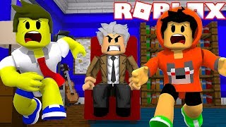 ESCAPE FROM EVIL GRANDPA IN ROBLOX
