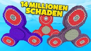 BEST FIDGET SPINNER LUCKY BLOCKS BATTLE