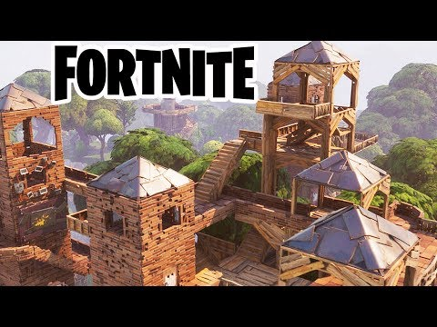 MASSIVE Zombie Hordes and EPIC FORTS! Fortnite Early Access Gameplay
