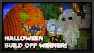 HALLOWEEN BUILD OFF COMPETITION WINNER 2018!