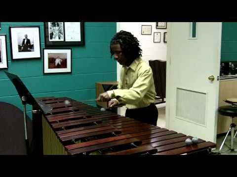 Partita No. 1, Bach - Marimba Solo - performed by Jay