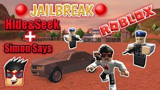 🔴| Roblox JAILBREAK&MORE Live Stream #6🔴|+Hide & Seek+Simon Says| AND COME JOIN AND HAVE FUN!!!