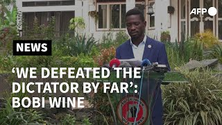 Uganda's Bobi Wine says he won election 'by far' | AFP