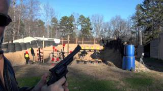Smith & Wesson 41 Magnum Revolver Shooting Action