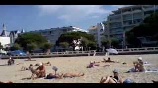 la plage de arcachon