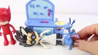 Romeo Çikolata Sos Yedi Pj Maskeliler Çizgi Film Eğlenceli Çocuk Videosu