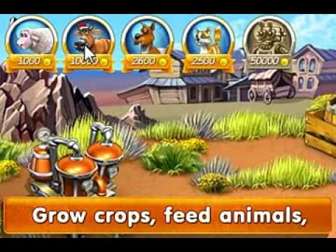 "Free online and downloadable games Alawar: ""Farm Frenzy 3 - American Pie"" .flv"