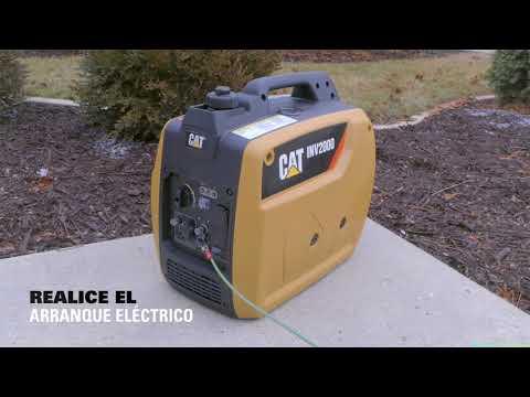 Cat® NA 2kW Generador Portátil | Desembalaje y Correr