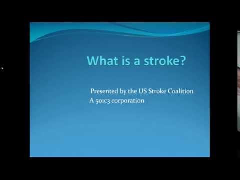 What happened when I had a stroke!  Presented by Charles Louis, Stroke Survivor