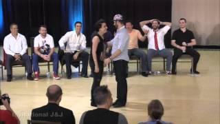 Ben Morris & Jennifer Deluca - Wild Wild Westie Invitational Jack & Jill 2nd Place