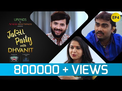 Jalsa Party With Dhvanit – Episode 4 : Kinjal Dave and Jignesh Kaviraj | Dhvanit Thaker |