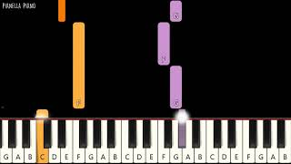 Kemarin - SEVENTEEN - SLOW EASY Piano Tutorial